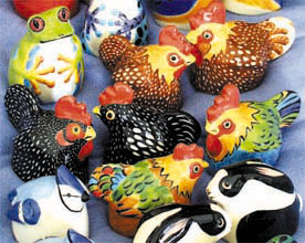 Hand-painted porcelain giftware